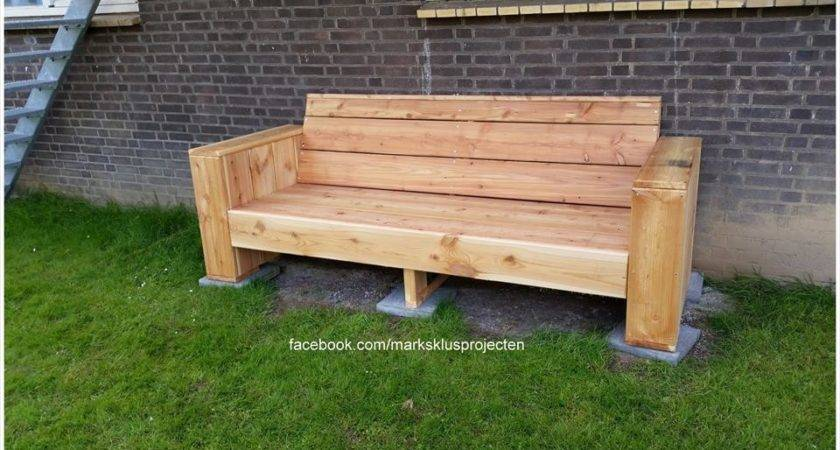Diy Pallet Bench Instructions Wooden