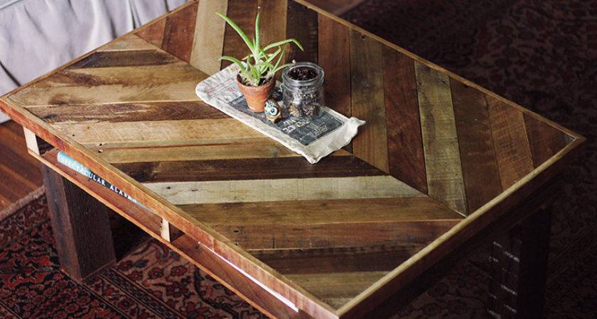 Diy Pallet Coffee Table Merrythought