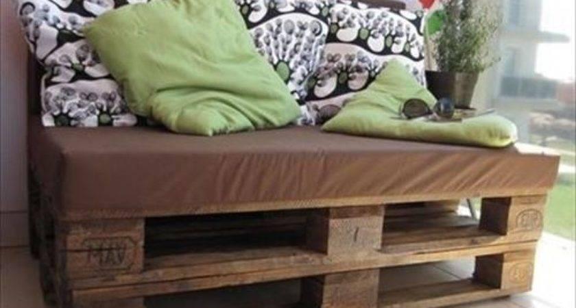 Diy Pallet Couch Best Place Your Pallets Designs