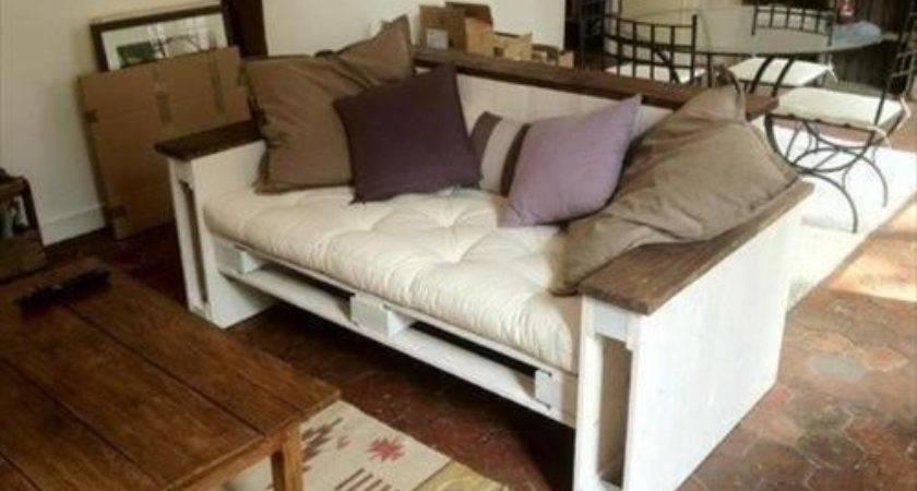 Diy Pallet Couch Ideas Pallets Designs