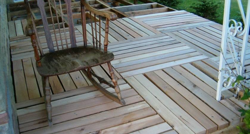 Diy Pallet Deck Ideas Best
