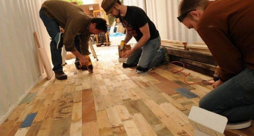 Diy Pallet Flooring Owner Builder Network