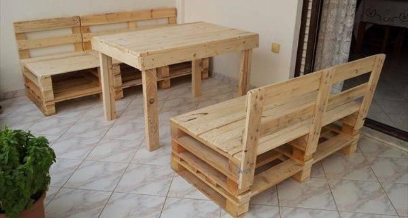 Diy Pallet Furniture Idea