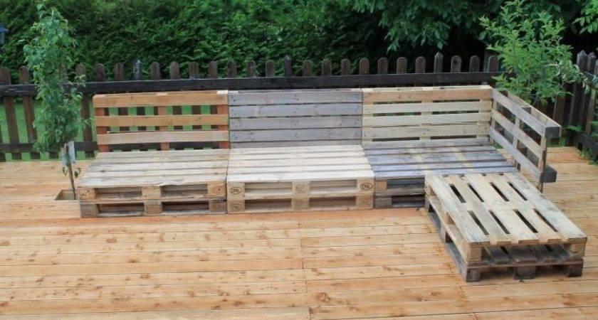 Diy Pallet Garden Furniture Plans Wood Projects Dma