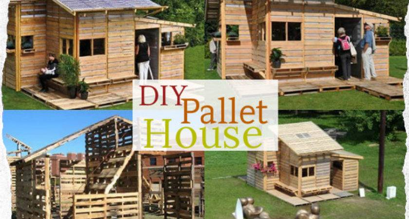 Diy Pallet House Self Sufficiency