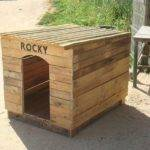 Diy Pallet Outdoor Dog House Pallets Designs