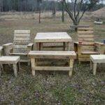 Diy Pallet Outdoor Furniture Pieces Pallets Designs