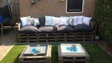 Diy Pallet Patio Furniture Plans