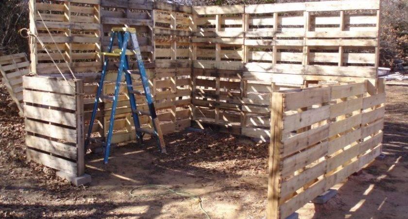Diy Pallet Shed Project Home Design Garden