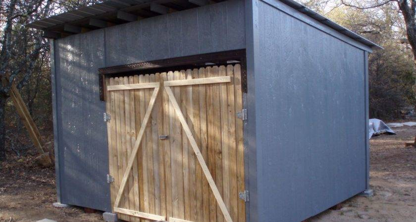Diy Pallet Shed Project Icreatived