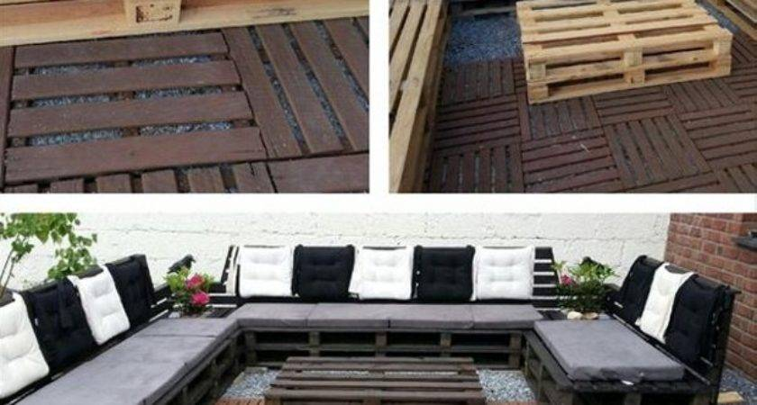 Diy Pallet Sofa Ideas Plans Recycled