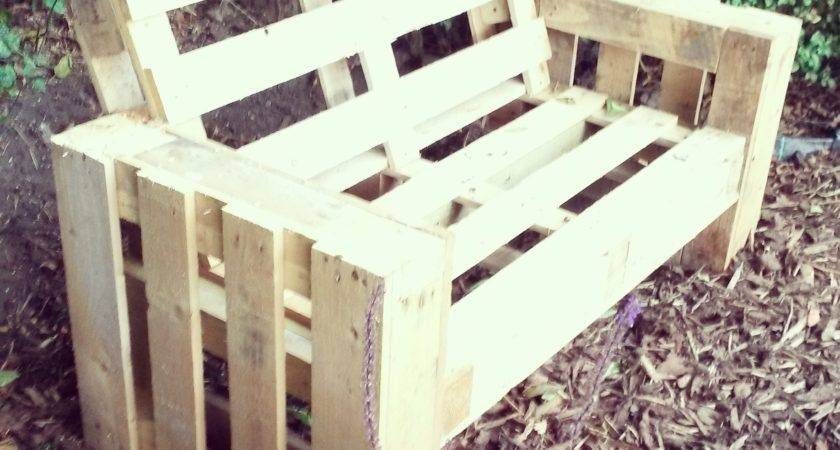 Diy Pallet Sofa Steps