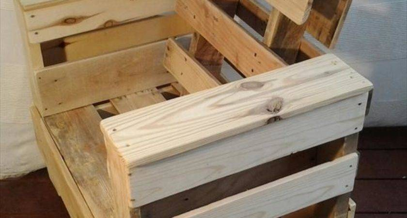 Diy Pallet Wood Chair Furniture Plans