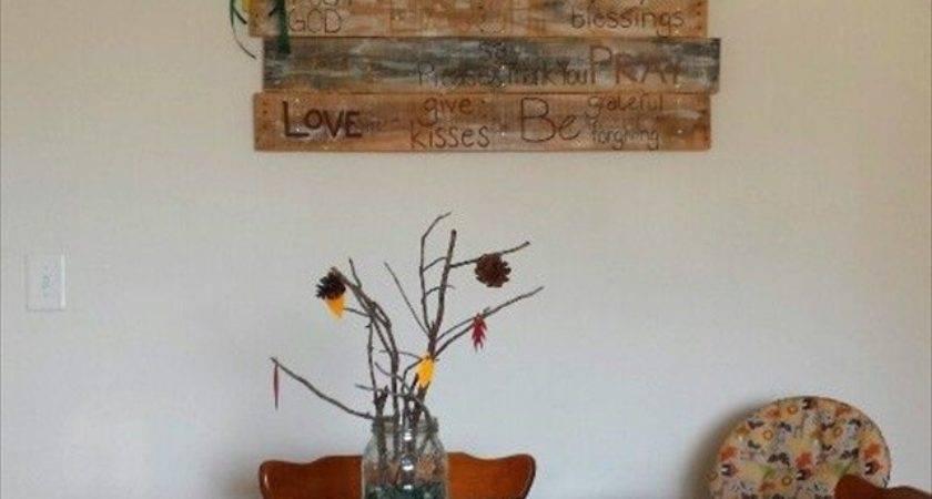Diy Pallet Wood Wall Art Designs