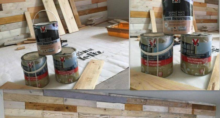 Diy Pallet Wood Wall Paneling Decor Home Ideas