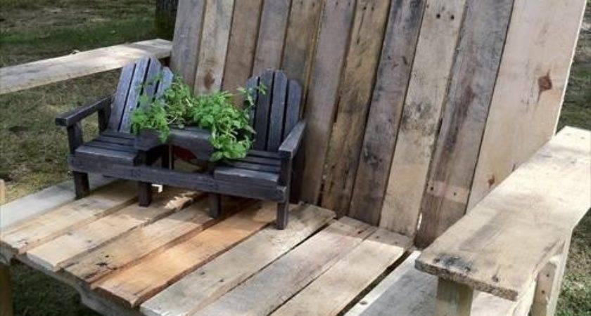 Diy Pallet Wooden Bench Pallets Designs