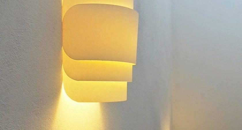 Diy Paper Wall Lamp Ohoh Blog