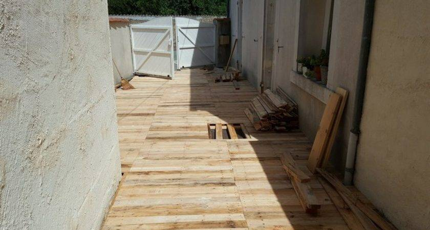 Diy Patio Pallet Floor Ideas Recycled Upcycled