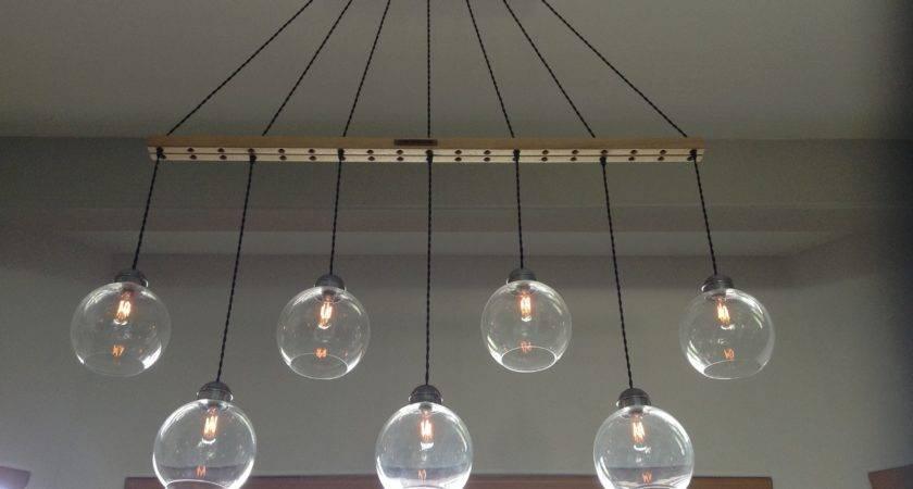 Diy Pendant Light Unique Sparkling Design