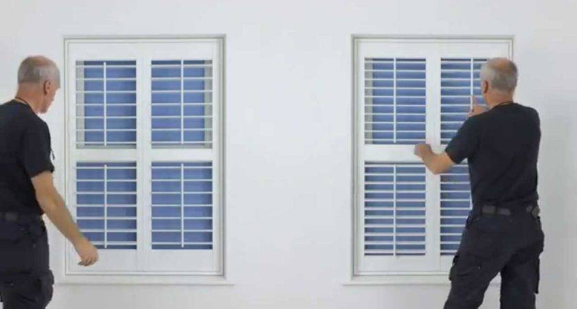 Diy Plantation Shutters Video Guide Explaining All