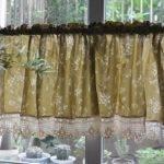 Diy Primitive Kitchen Curtains