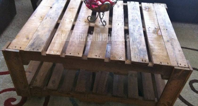Diy Recycled Pallet Tables Furniture Plans