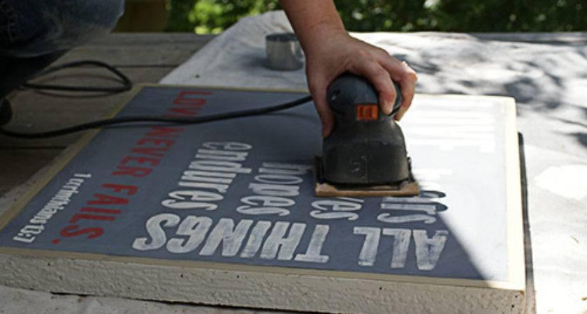 Diy Rustic Hand Painted Signs Reclaimed Wood