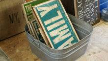 Diy Rustic Hand Painted Signs Reclaimed Wood