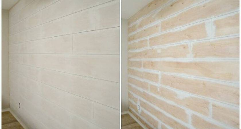 Diy Shiplap Wall Your Self