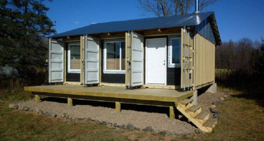 Diy Shipping Container Home Architecture Inspiring