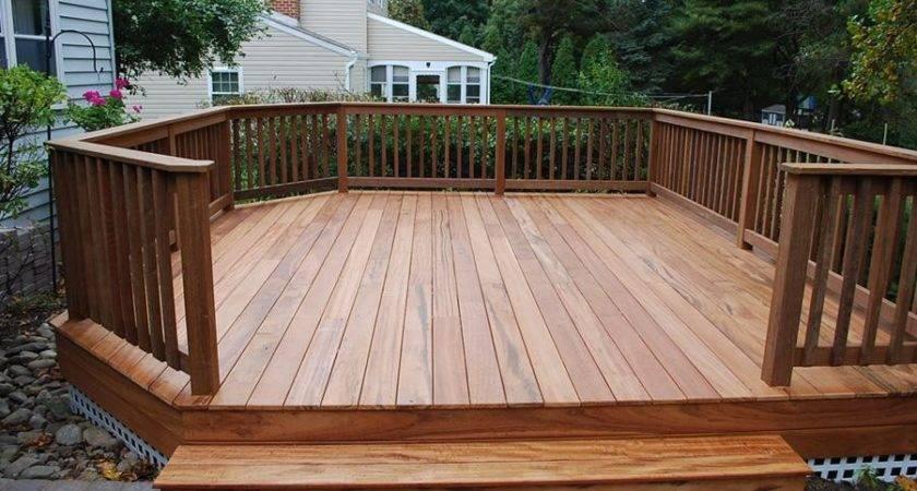 Diy Standing Deck Plans