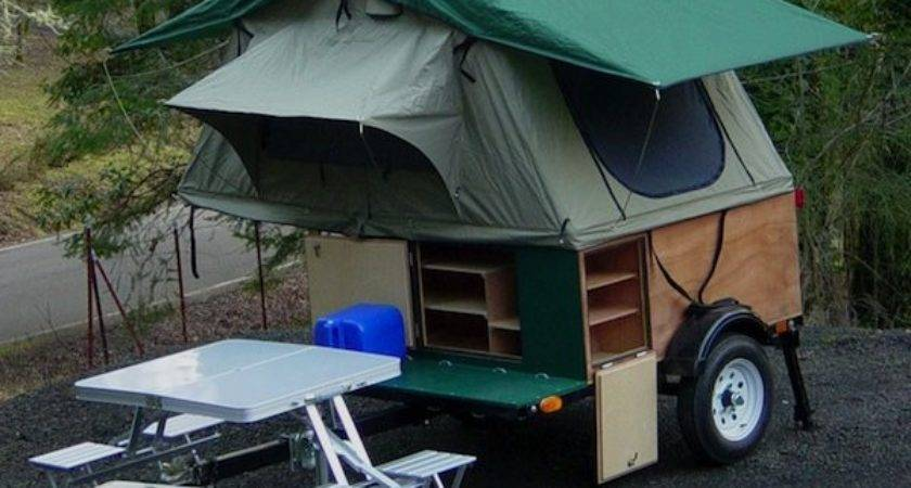 Diy Tent Campers Can Build Tiny Trailer