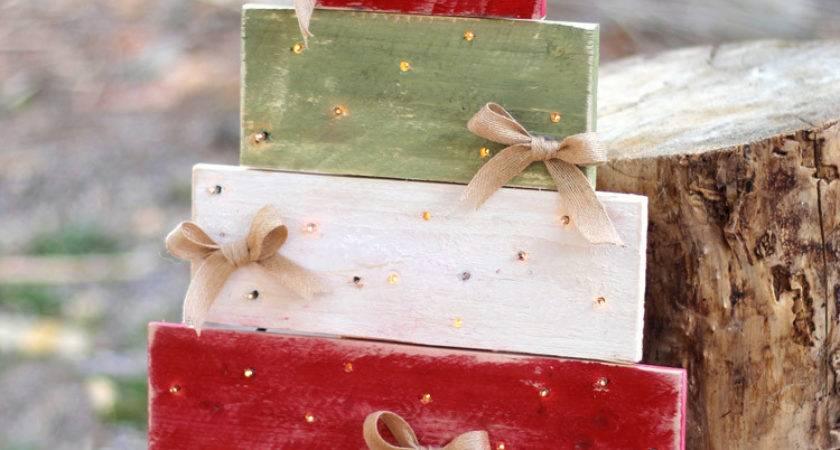 Diy Tree Pallet Wood Christmas Craft Consumer Crafts