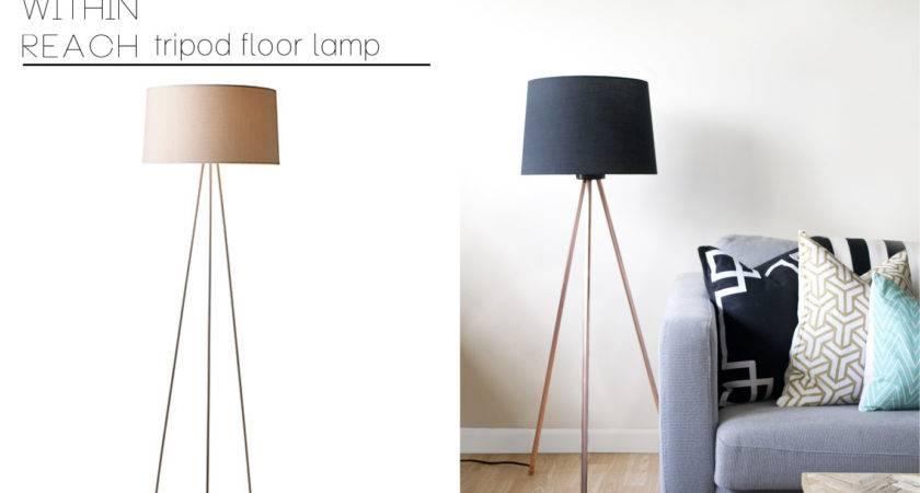 Diy Tripod Lamp Pinterest