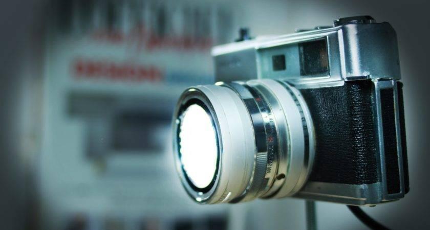 Diy Vintage Camera Lamp Youtube