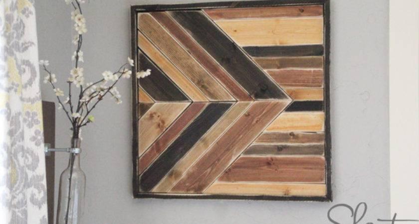 Diy Wall Art Pallet Design Shanty Chic