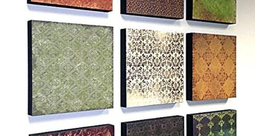 Diy Wall Art Scrapbook Papers Hometalk