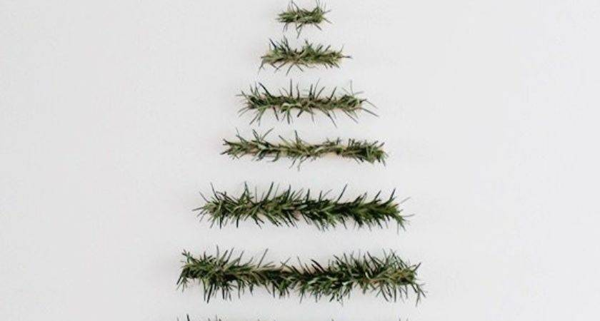 Diy Wall Christmas Tree Ideas Tip Junkie