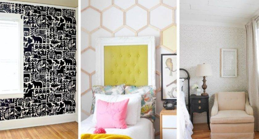 Diy Wall Covering Ideas Designer Trapped