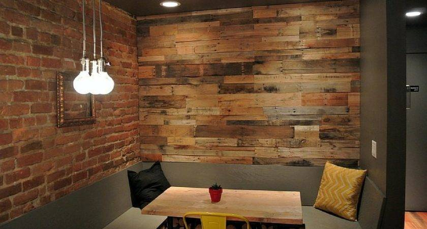 Diy Wood Pallet Accent Wall Refreshing New Look
