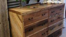 Diy Wood Pallet Dresser Wooden Furniture
