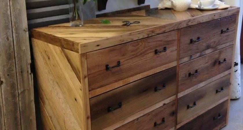 Diy Wood Pallet Dresser Wooden Furniture