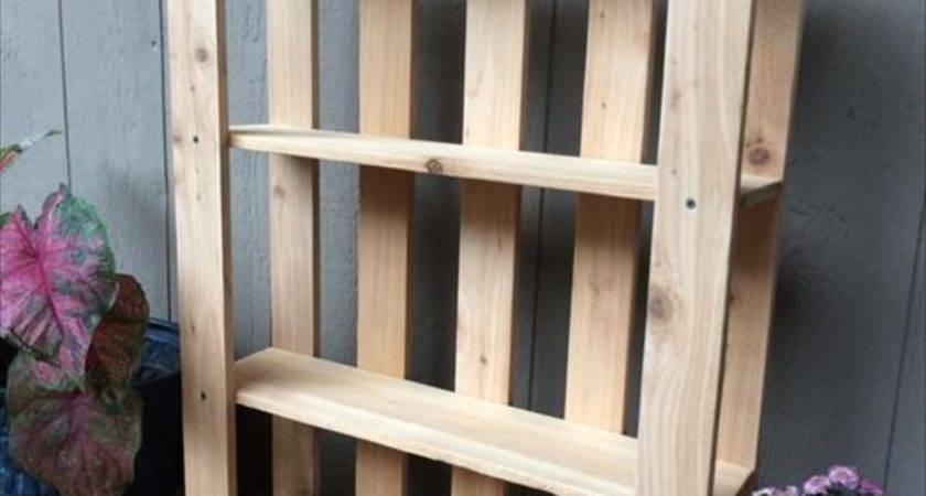 Diy Wood Pallet Shelf Ideas