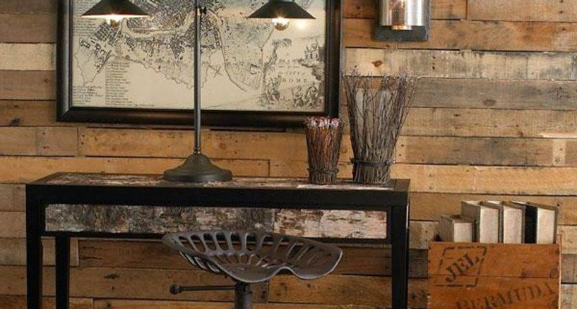 Diy Wood Pallet Wall Makeover Furniture Plans