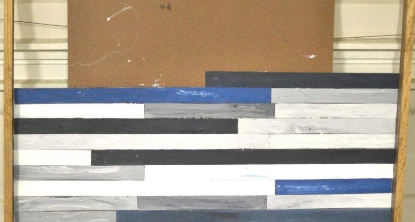 Diy Wood Plank Wall Art Plans Make Available Glm