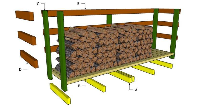 Diy Wood Shed Plans Outdoor