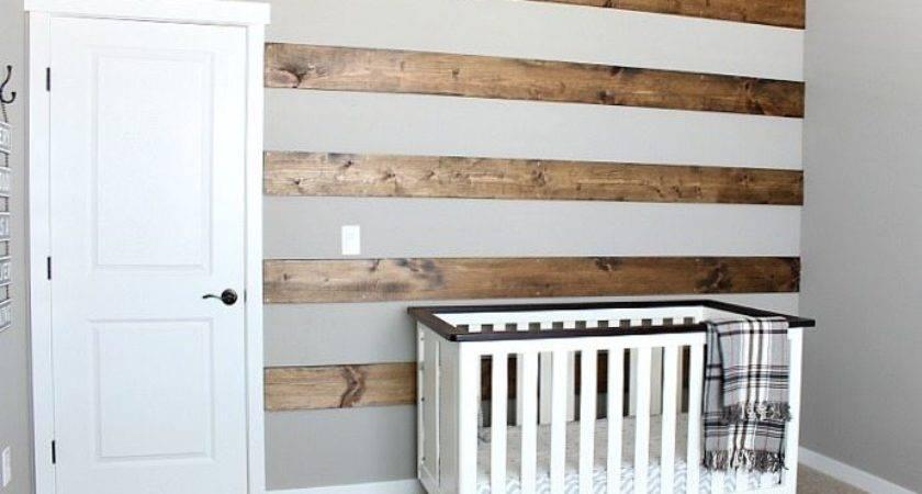 Diy Wood Striped Wall Transform Blank Day