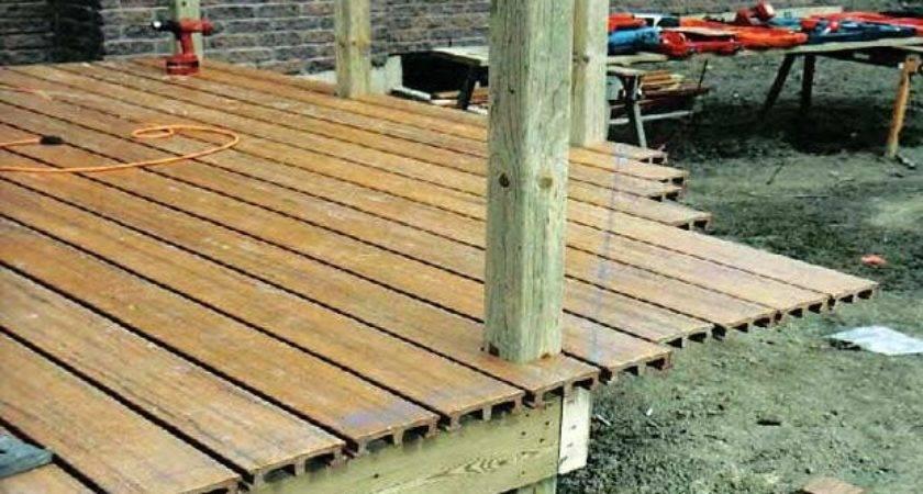 Diy Wooden Deck Plans Woodguides