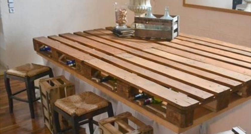 Diy Wooden Pallet Bar Pallets Designs