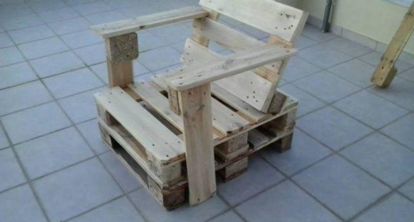Diy Wooden Pallet Chair Furniture Plans
